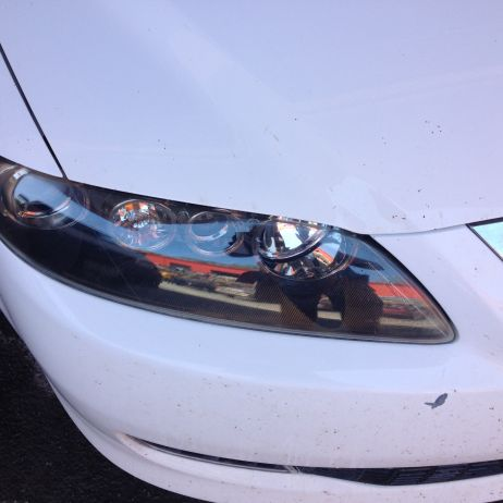 Headlight repair after