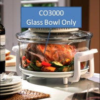 Glass Bowl to suit CO3000 NutriOven (PICKUP ONLY)