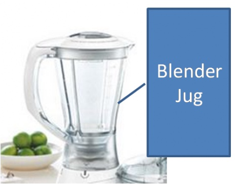 LC69131 (JUG ONLY LID AND BLADE NOT INCLUDED)