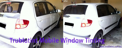 Mobile Window Tinting