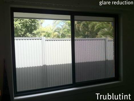 Glare Reduction Home Tint