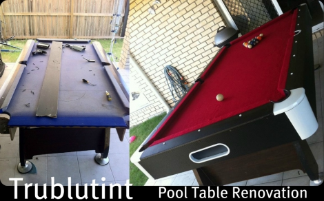 Pool Table Conversions