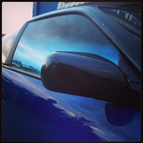Blue Fader Window Tinting