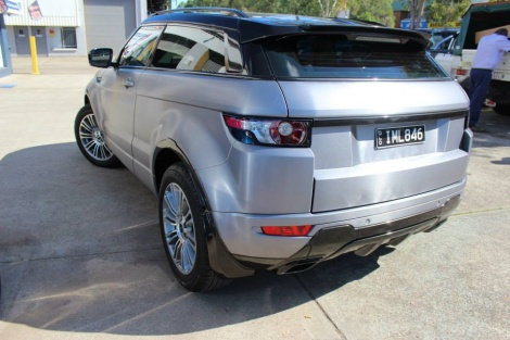 Brushed Steel Evoque Wrap