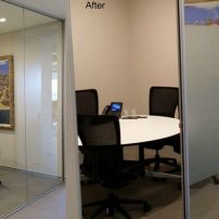 Frosted Film Install Brisbane