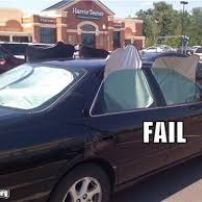 Window Tinting Fail
