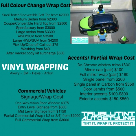 Brisbane Vinyl Wrap Prices