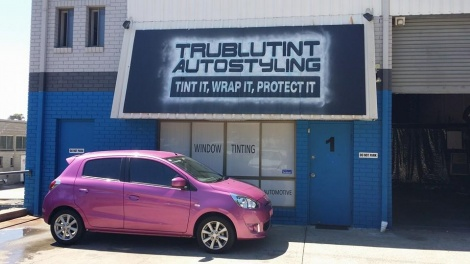 Window Tinting Brisbane Pink