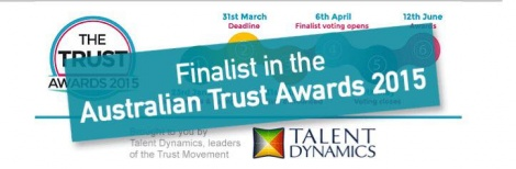 Finalists in the 2015 Trust Business Awards