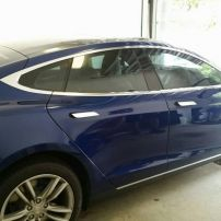 Tesla S Window Tinting