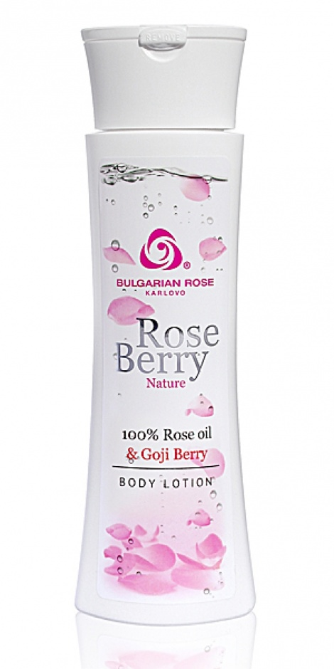ROSE BERRY NATURE BODY LOTION 200 ML
