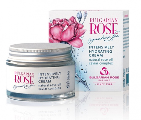 BULGARIAN ROSE SIGNATURE SPA-INTENSIVELY HYDRATING CREAM 50ML