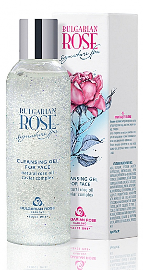 BULGARIAN ROSE SIGNATURE SPA-CLEANSING FACE GEL 200 ML