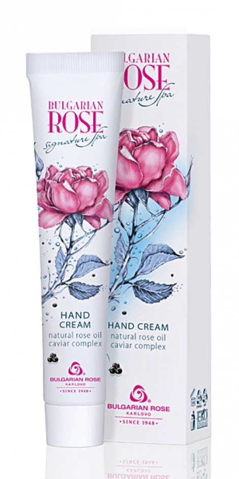 BULGARIAN ROSE SIGNATURE SPA-HAND CREAM 50 ML