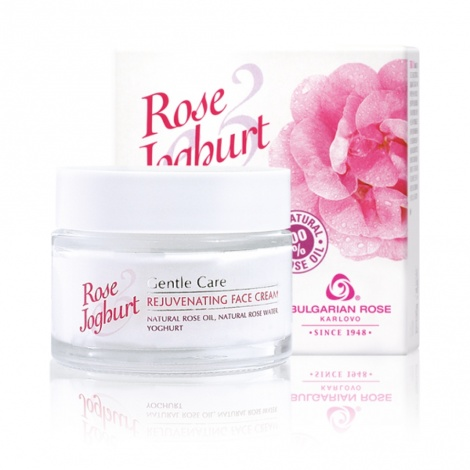 "REJUVENATING FACE CREAM ""ROSE JOGHURT"" 50 ML"