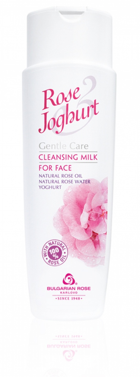 "CLEANSING FACE MILK ""ROSE JOGHURT"" 250 ML"