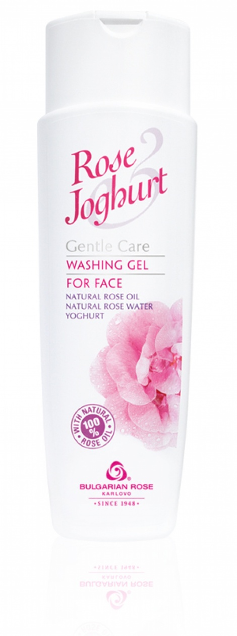 "WASHING FACE GEL ""ROSE JOGHURT"" 250 ML"
