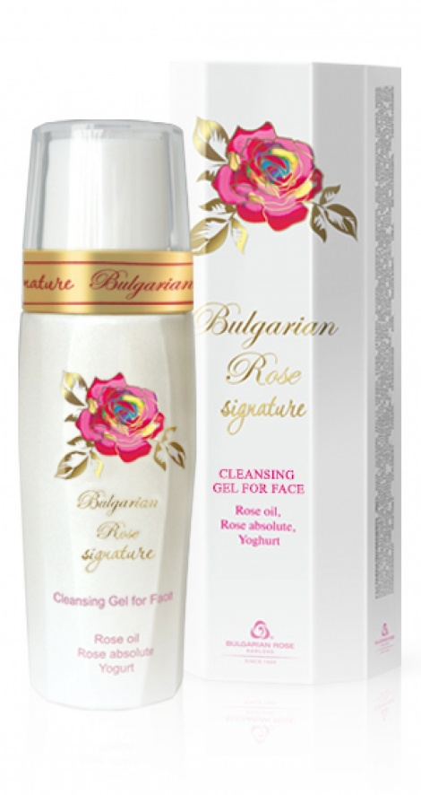 CLEANING FACE GEL - BULGARIAN ROSE SIGNATURE 90 ML