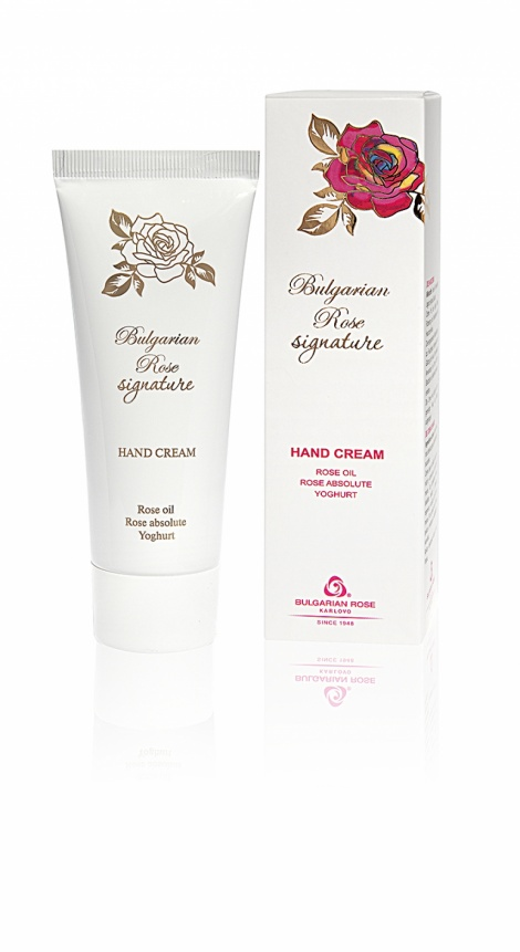 HAND CREAM - BULGARIAN ROSE SIGNATURE 75 ML