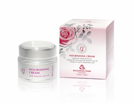 "NOURISHING CREAM ""LJ "" WITH ROSE OIL 50 ML"