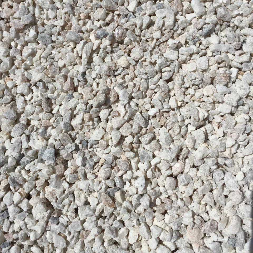 Crushed Marble Powder : Mm crushed marble chris cross garden landscape and