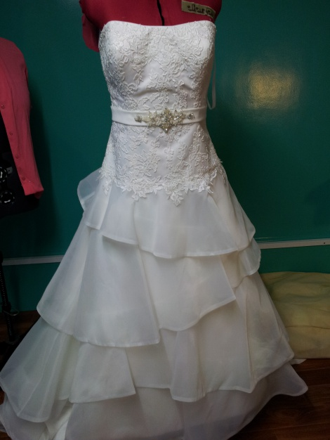 wedding dress modifications