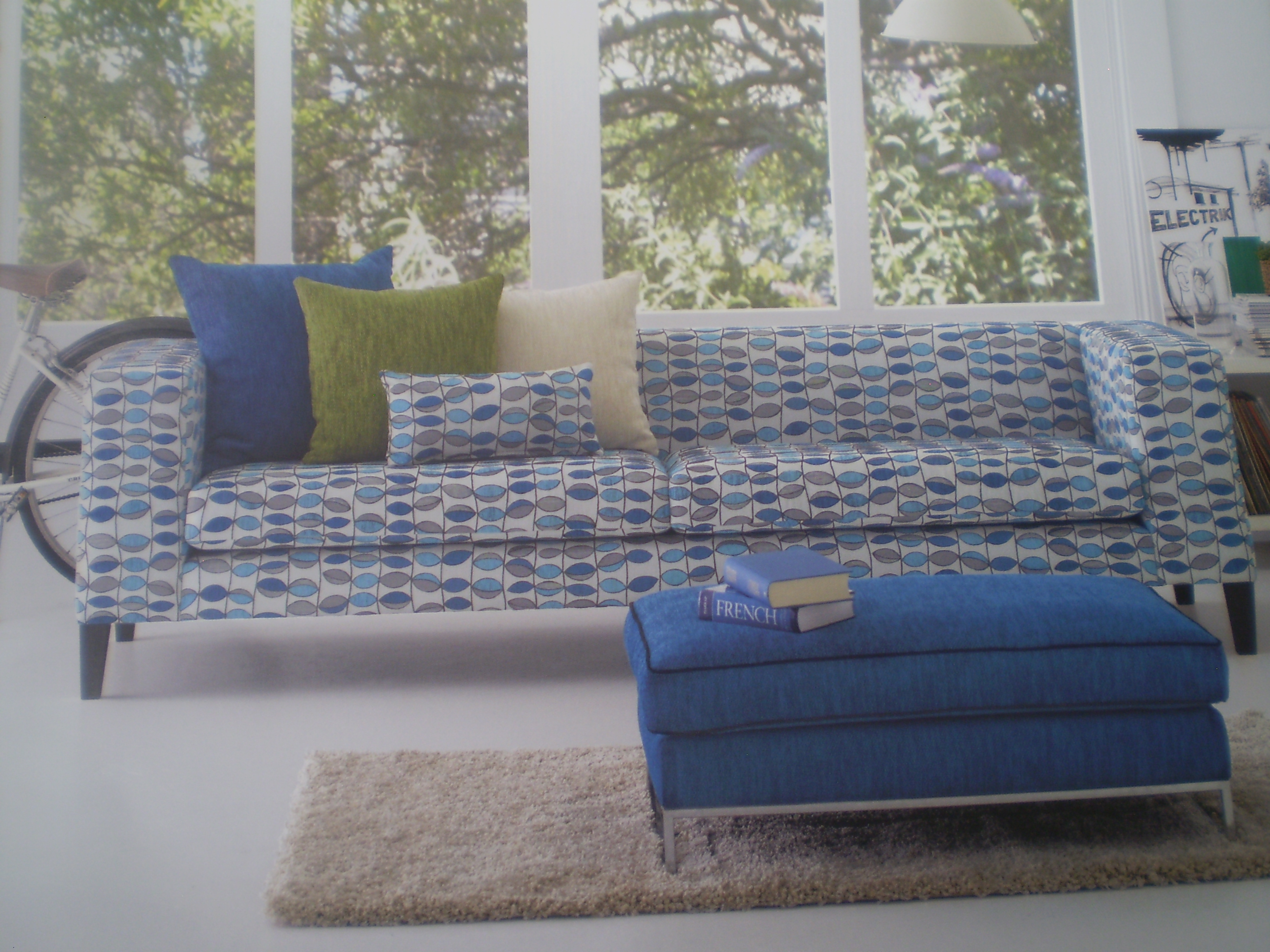 Warwick Summertime Curacao & Baxter Collection JARO UPHOLSTERY