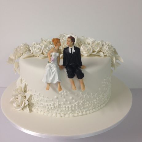 one tier wedding cake my gallery check out our cakes s heavenly cakes 18022