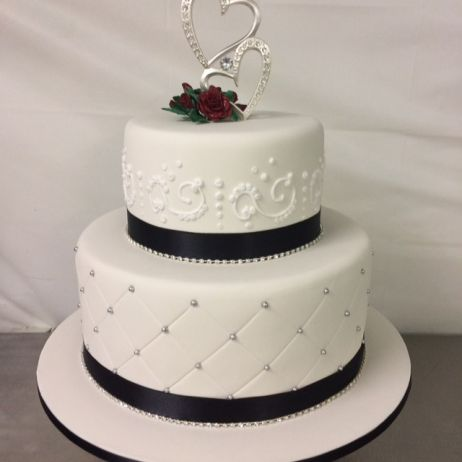 2 tier wedding cake images my gallery check out our cakes s heavenly cakes 10153