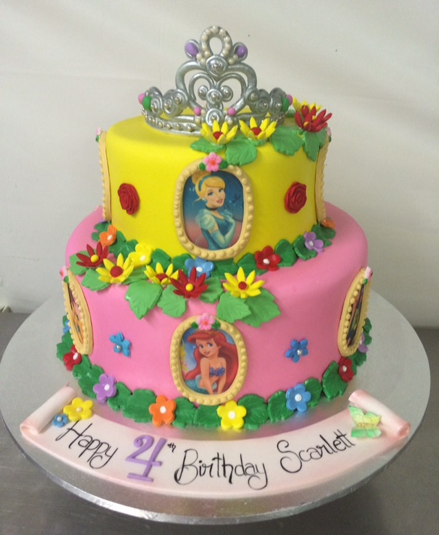 disney princess cake disney princesses cake s heavenly cakes 3567
